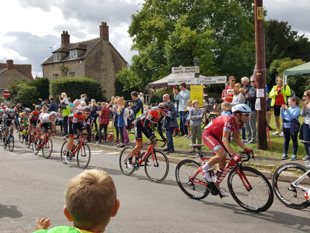 The Tour of Britain passes through Islip